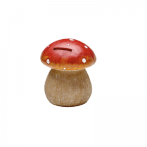 Irish Fairy Door Toadstool Money Bank