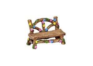 Irish Fairy Door Flower Bench
