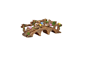 Irish Fairy Door Flower Bridge