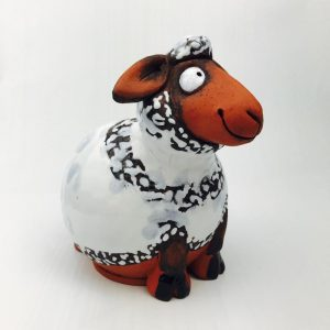 Large Ceramic Irish Sheep