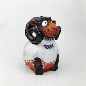 Large Ceramic Irish Ram