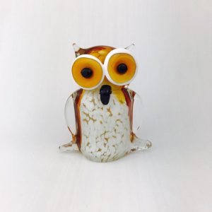 Irish Glass Owl