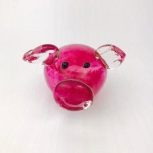 Irish Glass Pig