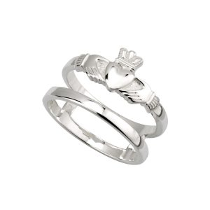 Claddagh Ring Double Band by Solvar s21034