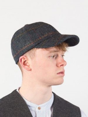 Baseball Cap with Ear Flaps By John Hanly H57