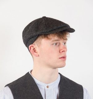 John Hanly 8 Piece Tweed Cap