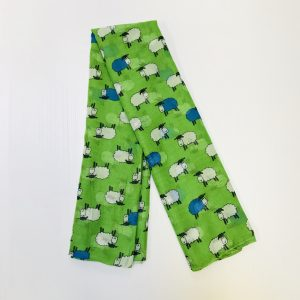 Green Irish Sheep Scarf