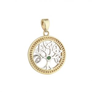 Solvar 14k Gold Tree of Life Charm S80230