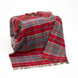 Large Wool Red Blanket John Hanly 180