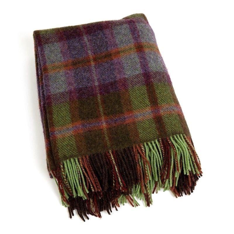 Large Wool Irish Blanket Throw John Hanly 187 Skellig