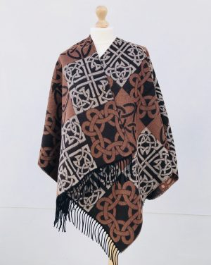 Jimmy Hourihan Celtic Reversible Shawl Wrap