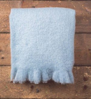 Foxford Parma Mohair Blanket Throw