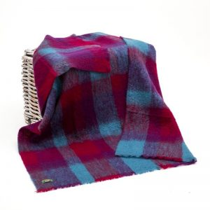 John Hanly Irish Mohair Blanket