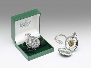 Mullingar Pewter Trinity Pocket Watch