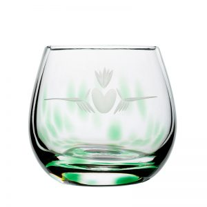 Claddagh Irish Glass Candle Votive