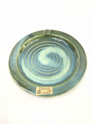 Colm De Ris Green Dinner Plates