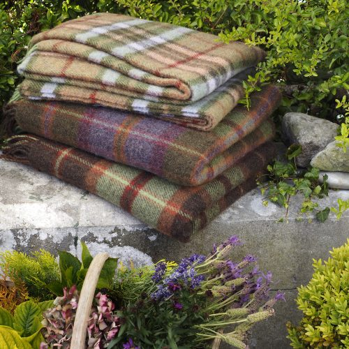 John Hanly Wollen Mills Blanket Selection