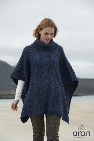 Super Soft Merino Wool Poncho