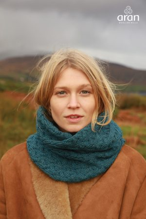 Super Soft Aran Infinity Snood