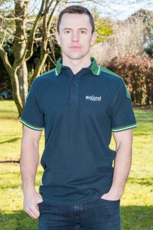 Ireland Navy Green Polo Shirt