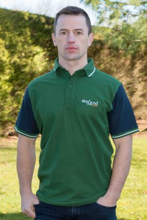 Retro Irish Ireland Polo Shirt