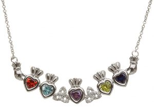 Shanore 5 Birthstone Trinity Mothers Pendant