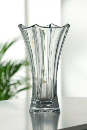 Galway Irish Crystal Dune Waisted Vase