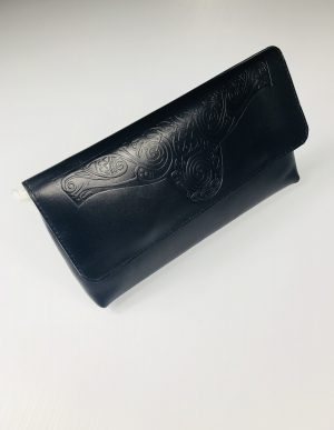 Lee River Black Ciara Clutch Bag