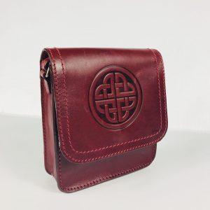 Lee River Red Morrigan Celtic Shoulder Bag