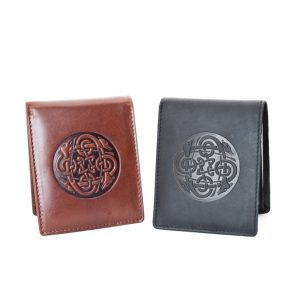 Lee River Celtic Cuchulainn Leather Wallet