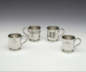 Mullingar Pewter Baby Christening Cup