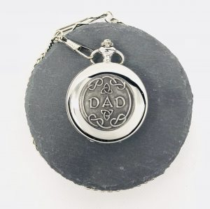 Mullingar Pewter Dad Pocket Watch