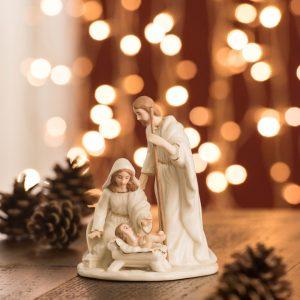 Belleek Living Small Nativity Family