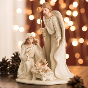 Belleek Living Large Nativity Family