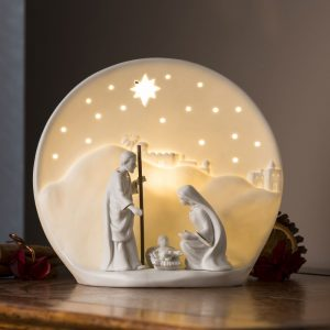 Belleek Living Nativity Luminaire Lamp