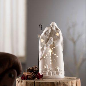 Belleek Living Nativity Group Light