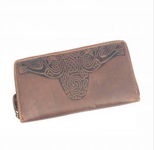 Lee River Roisín Tan Ladies Celtic Wallet
