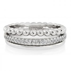 Waterford Crystal Triple Band Ring