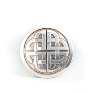 Lee River Celtic Knot Belt Buckle