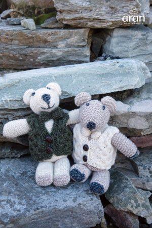 Aran Hand knit Teddy