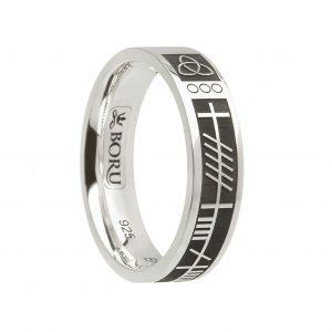 Ogham My Soul Mate Ring