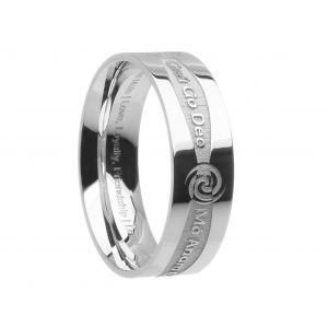 Boru Wide Promise Ring
