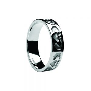 Boru Ladies Friendship Claddagh Ring