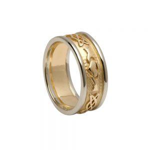 Boru Gents Claddagh Celtic Knot Ring