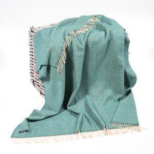 John Hanly Merino Cashmere Blanket 1417