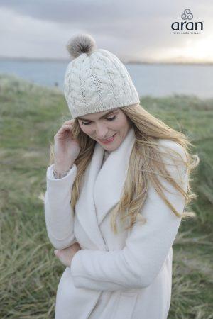 Aran Woollen Mills Merino Wool Hat