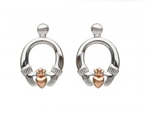 House of Lor Claddagh Stud Earrings