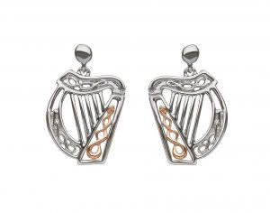 House of Lor Harp Drop Earrings
