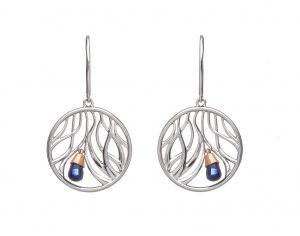 House of Lor Wishing Tree Sapphire Earrings