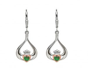 House of Lor Claddagh Drop Earrings